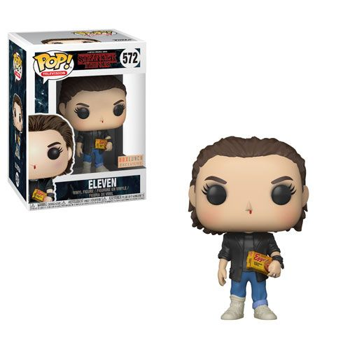 Stranger Things Eleven Box Lunch Exclusive Stranger Things Funko Pop Funk Pop Funko Pop