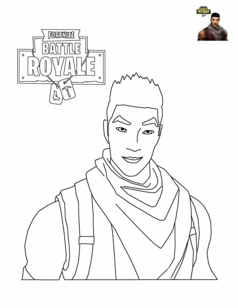 34 Free Printable Fortnite Coloring Pages (With images