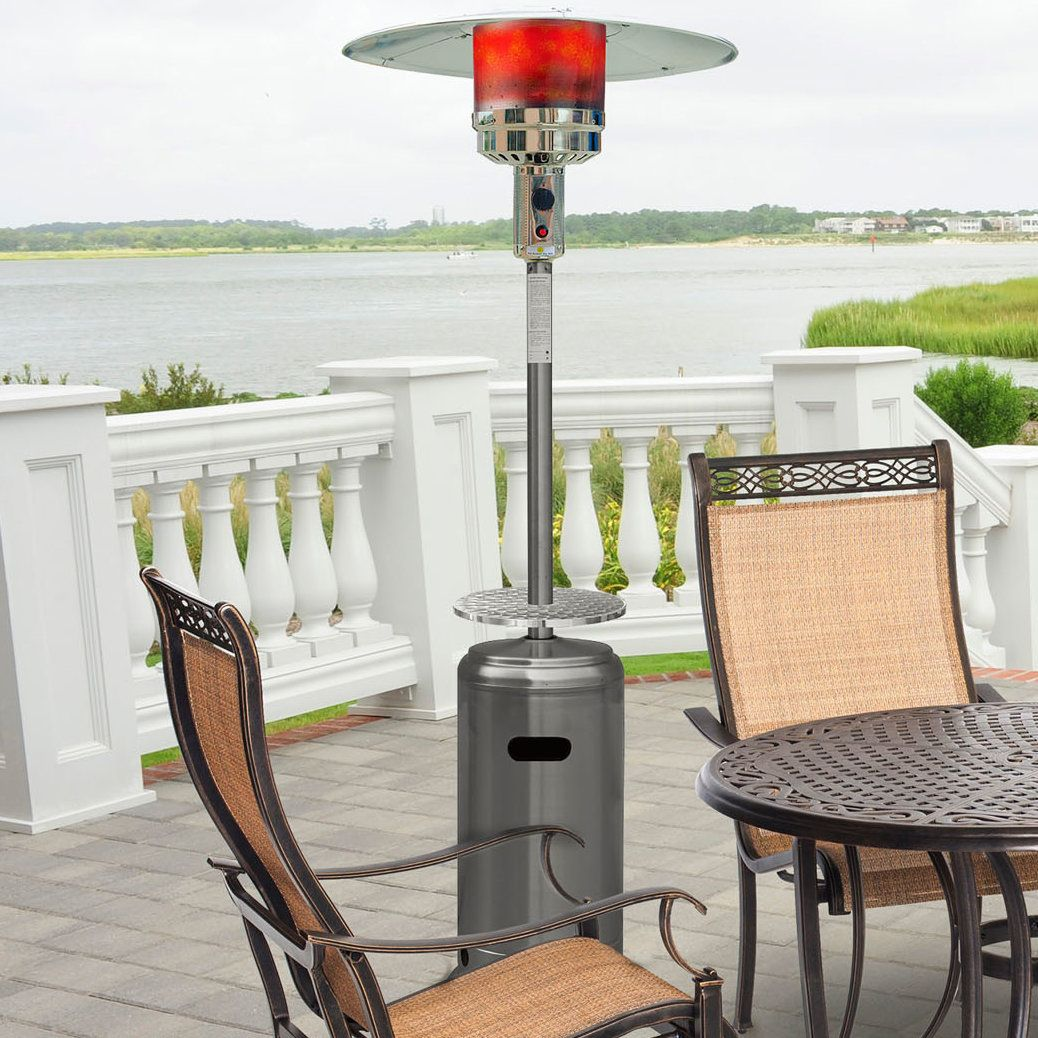Steel Umbrella 41 000 Btu Propane Patio Heater
