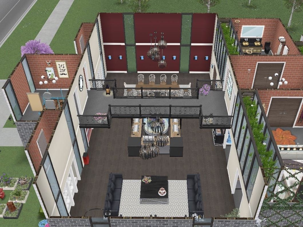 how to build a second floor in sims freeplay