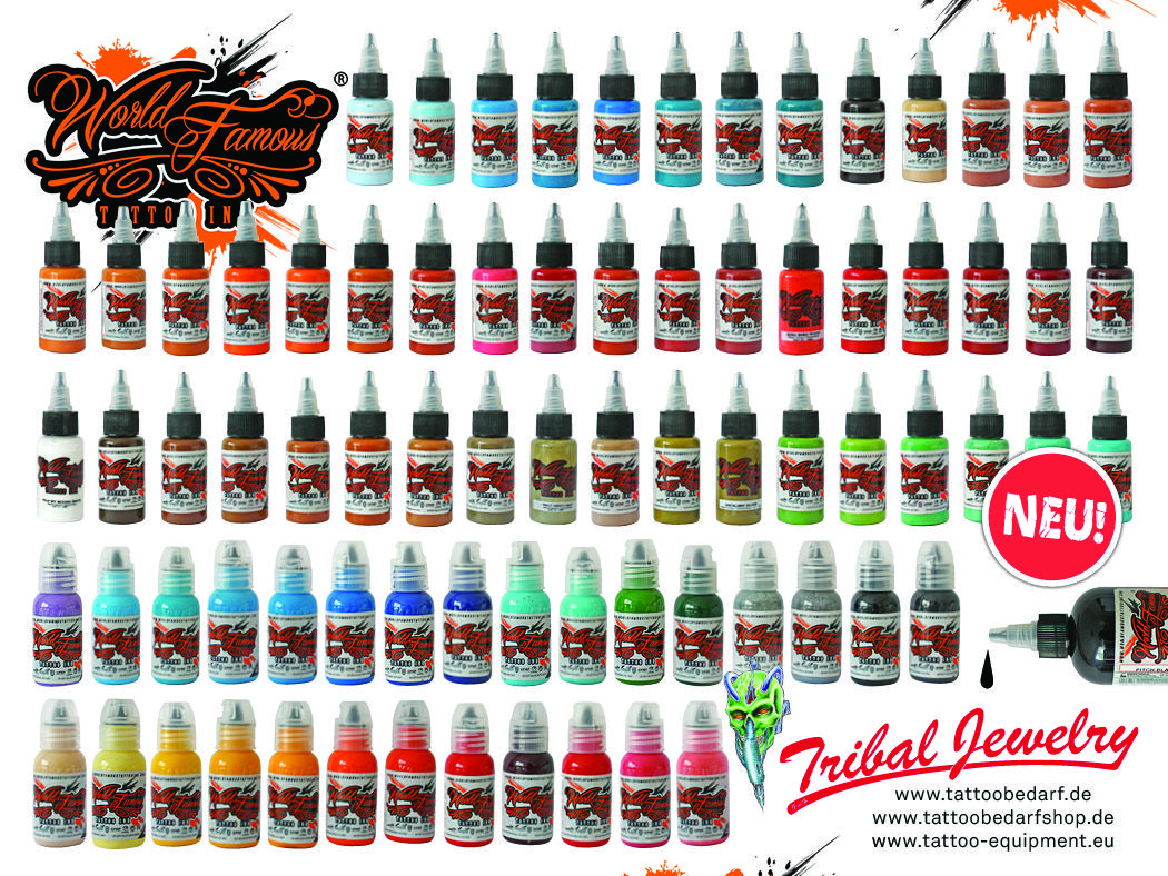 New World Famous Tattoo Ink In Our Shops Caramel Vampire