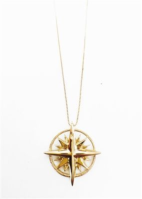 04e86c476db46a Compass Necklace | Ali's Pretty Little Wardrobe | Compass necklace ...