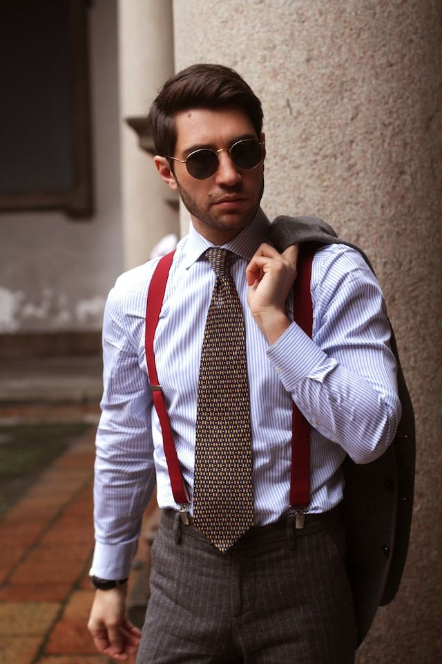 Royal Hem blazer Hackett London shirt Valentino vintage tie Tailor made  pants Church's tassel loafers