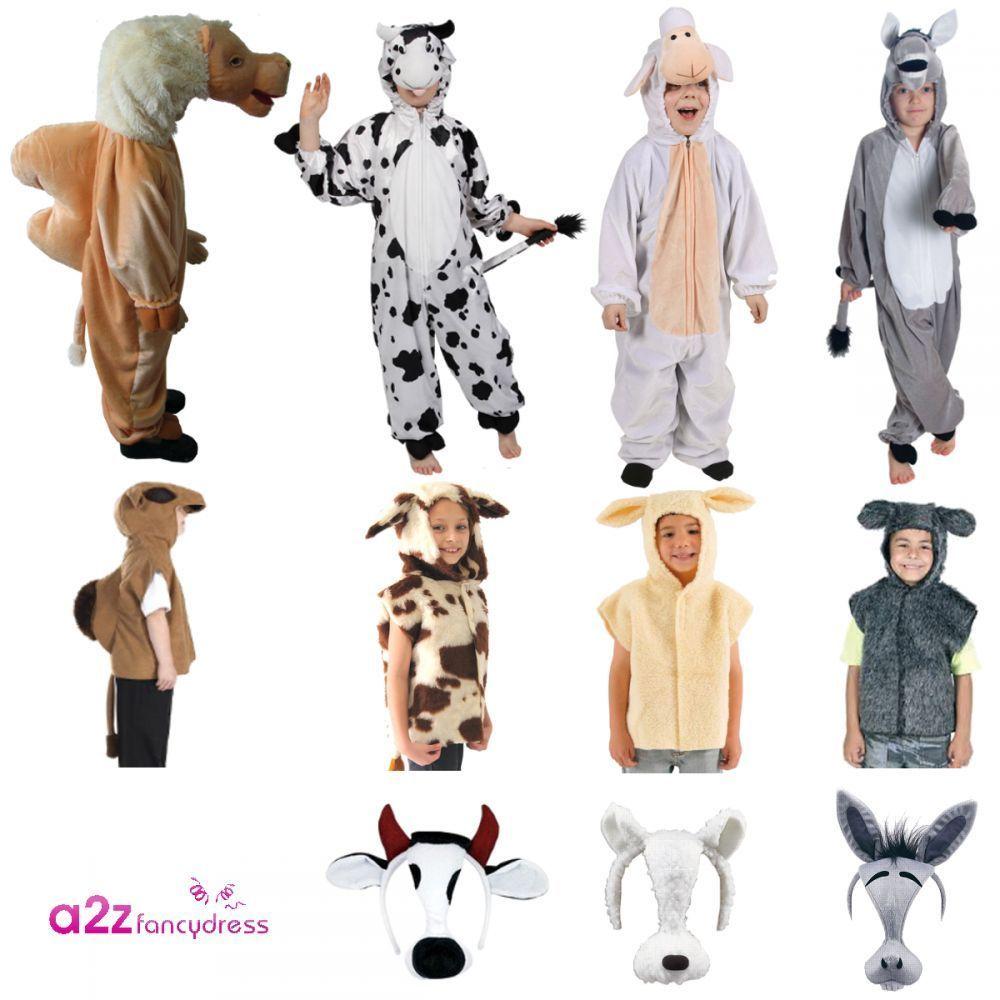 CHILDRENS LAMB SHEEP CHILDS KIDS FANCY DRESS COSTUME