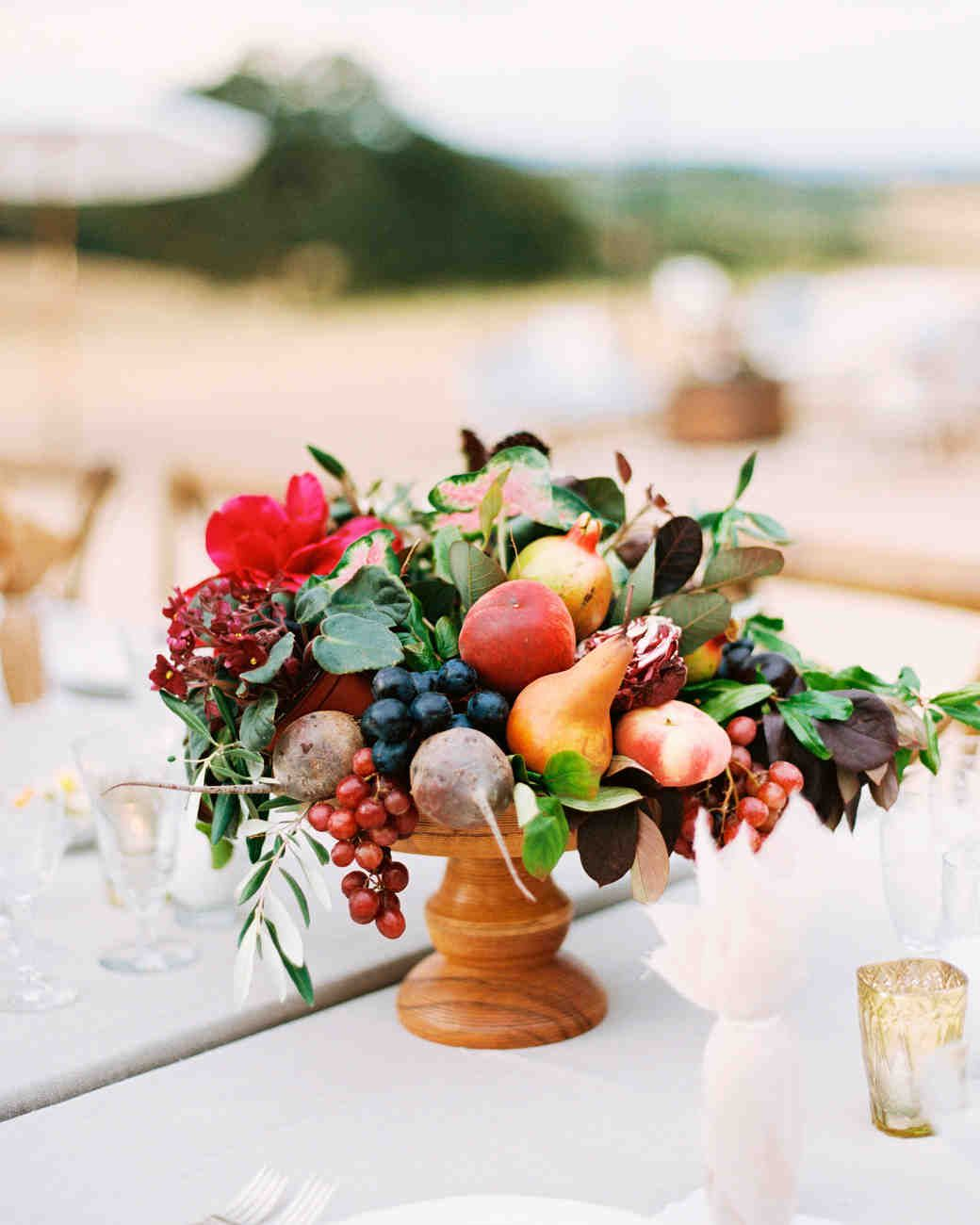 A Fruit Filled, Floral California Wedding | Fall wedding