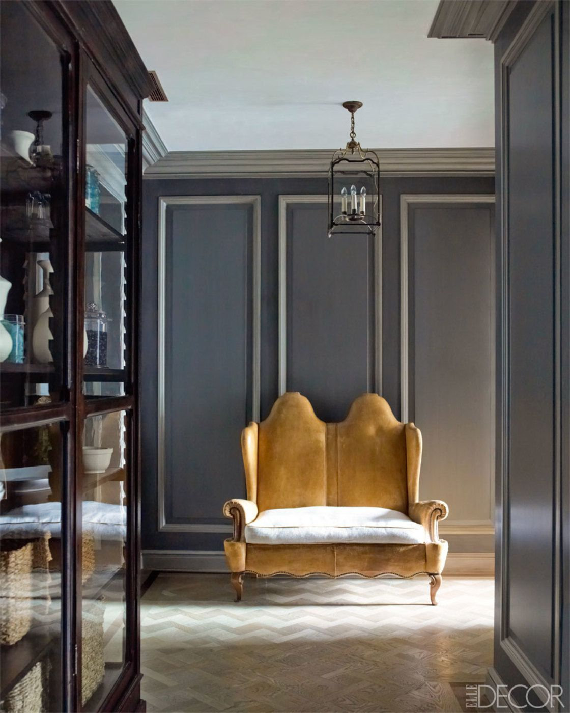 Pied-A-Terre at The Plaza: Hallway by Steven Gambrel ...