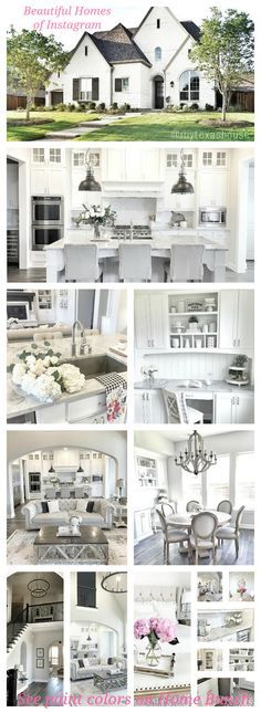 Love This Fresh Clean White Kitchen Accented With Touches Of Grey