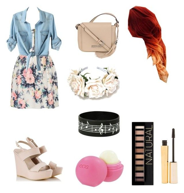 """""""Untitled #31"""" by zettyhalim ❤ liked on Polyvore featuring Cameo Rose, Alberto Guardiani, Kenneth Cole, Eos, Forever 21 and Stila"""