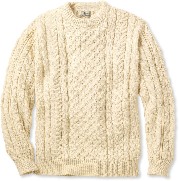 Cozy Mens Sweaters Are The Best Ll Bean Heritage Irish