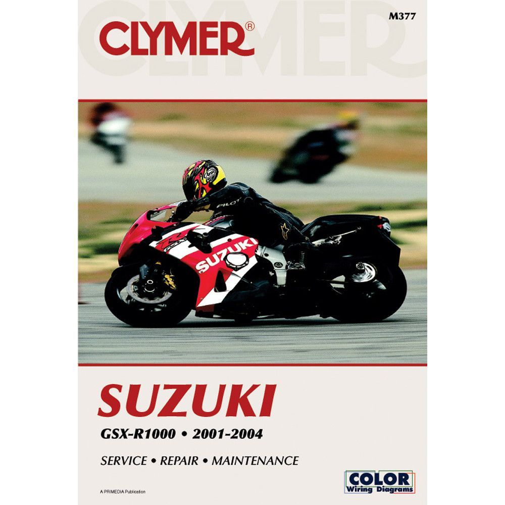 Clymer suzuki gsx r1000 2001 2004 products pinterest suzuki clymer motorcycle repair manuals are written specifically for the do it yourself enthusiast fandeluxe Image collections