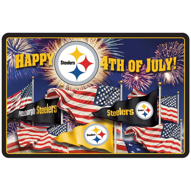 pittsburgh steelers doormats your 1st one is free the danbury mint