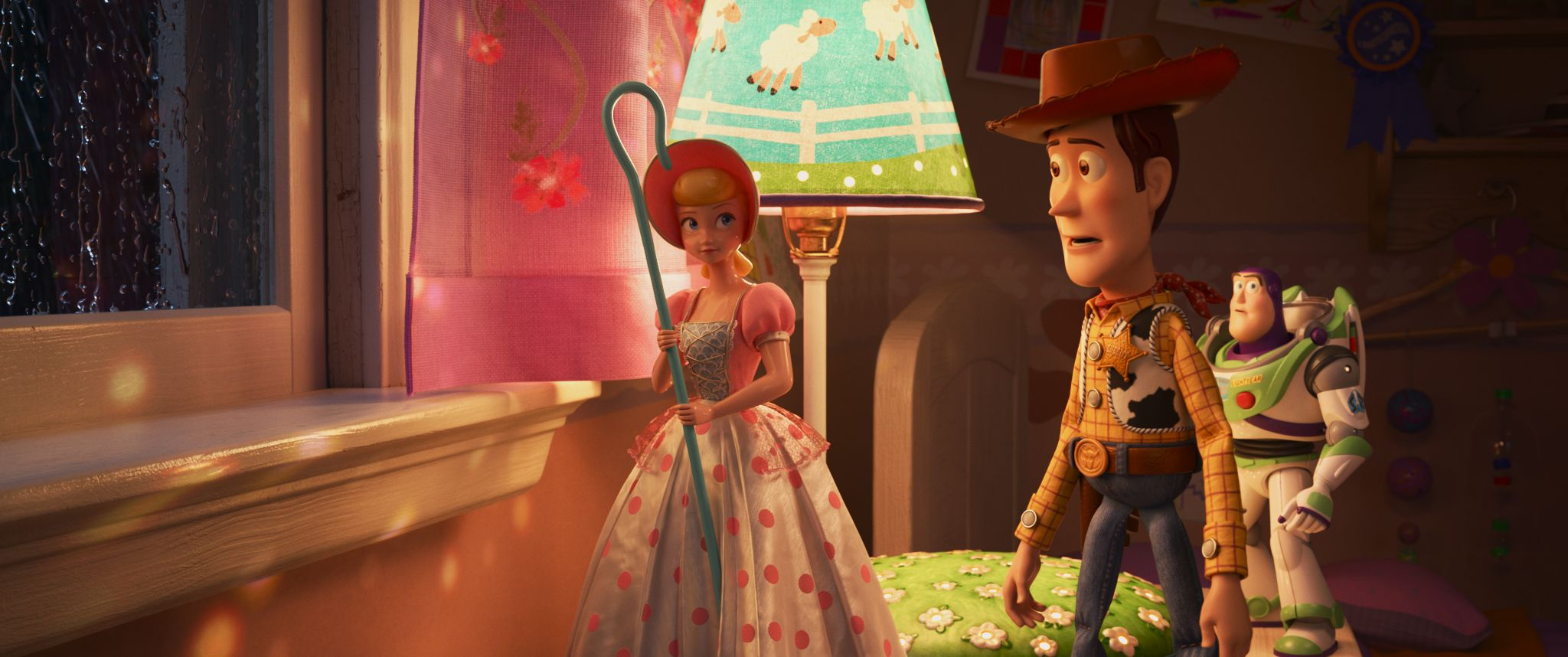 Toy Story 4 L R Bo Peep Woody And Buzz Lightyear C 2019 Disney Pixar All Rights Reserved Toy Story Bo Peep Pixar