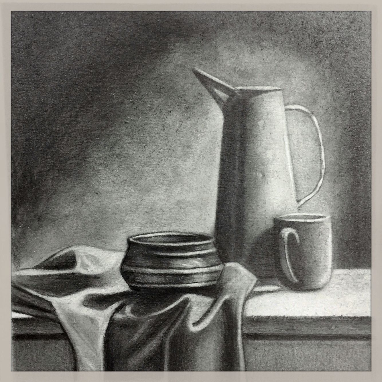 Natureza morta - textura | рисунок | Pencil drawings, Pencil