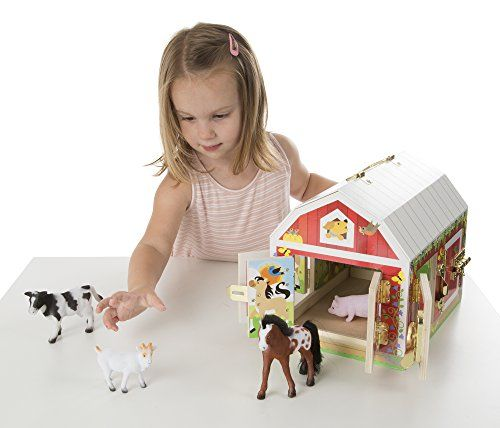 Melissa Doug Latches Barn Toy Toys For My Kids Toy