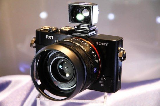 Sony-RX1. Full-frame compact camera with eyelevel viewer. All rigged ...