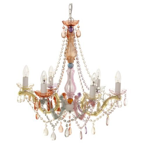 Leitmotiv marie therese pastel multi coloured chandelier leitmotiv marie therese pastel multi coloured chandelier mozeypictures Images