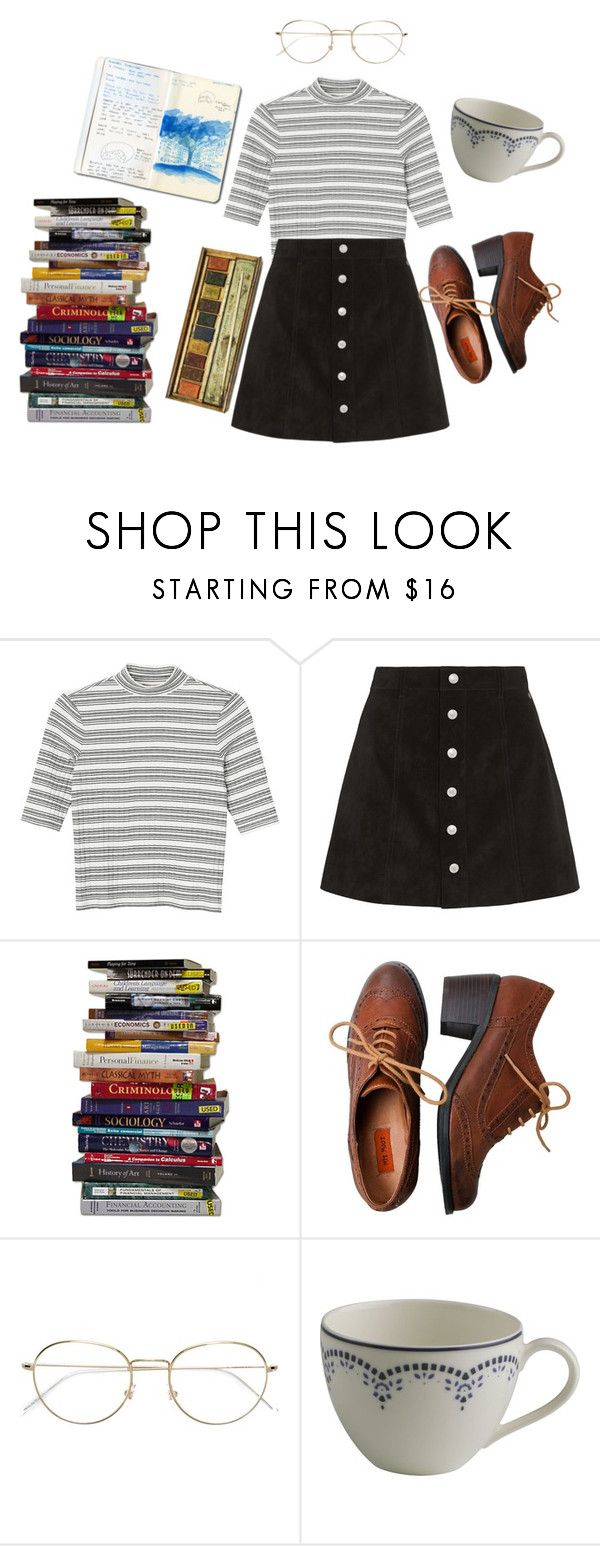 """stressed out"" by smallpeach ❤ liked on Polyvore featuring Monki, AG Adriano Goldschmied, Miz Mooz, RetroSuperFuture, Gallo Design and bathroom"