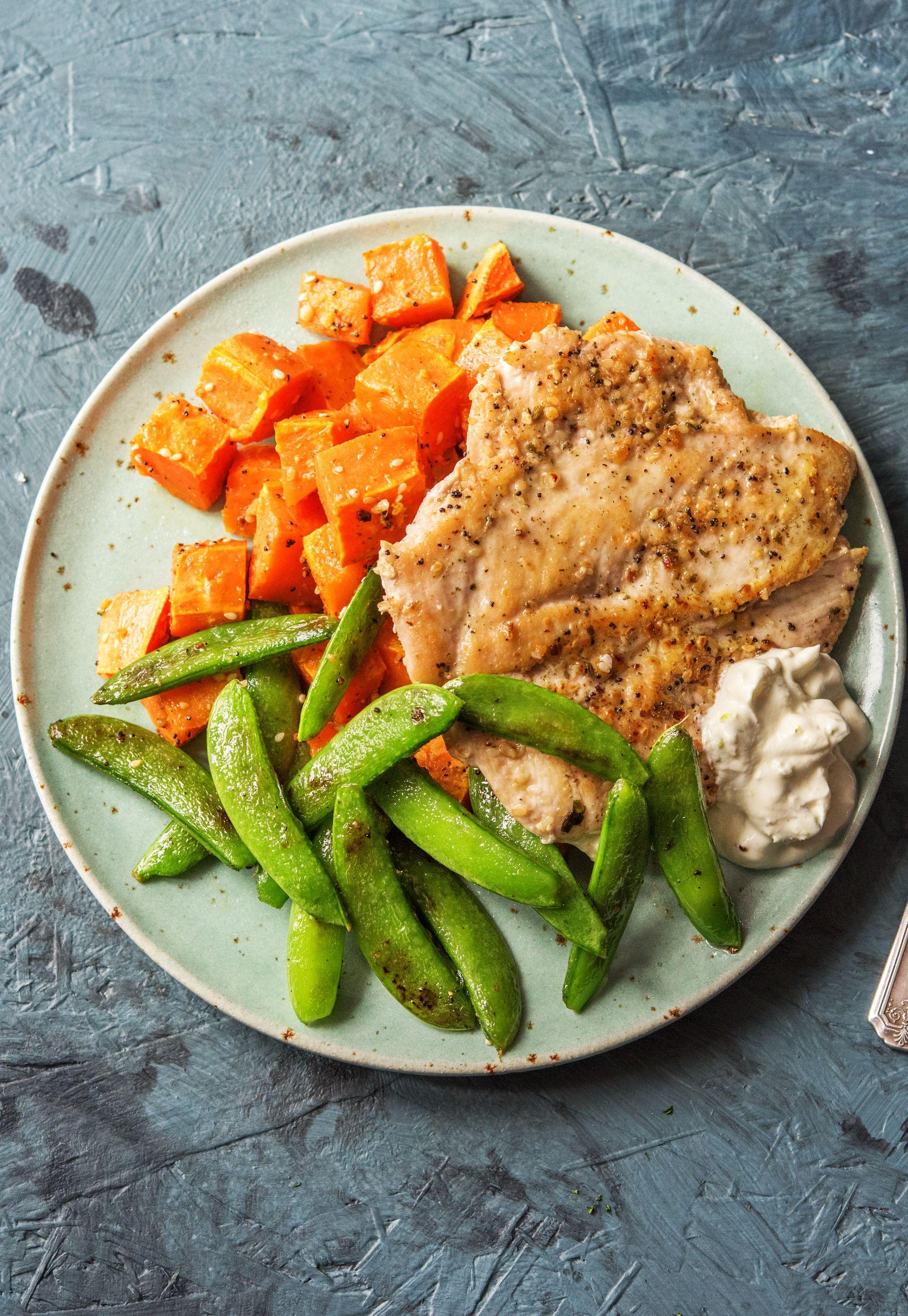 Jamie Oliver S 5 Ingredient Harissa Chicken Traybake Recipe