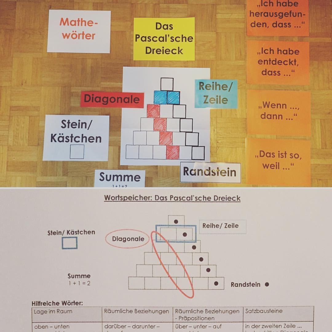 Die Sprachförderung darf natürlich auch im Mathematikunterricht ...