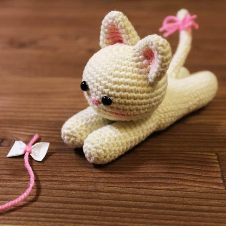Gatito. | otros amigurumi | Pinterest | Gato, Ganchillo y Flores