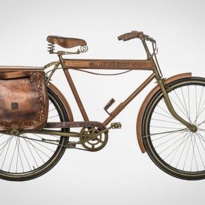 WILL'S LEATHER BICYCLE