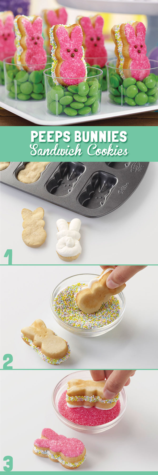 This Pan Makes It Easy To Make Peeps 174 Shaped Sandwich