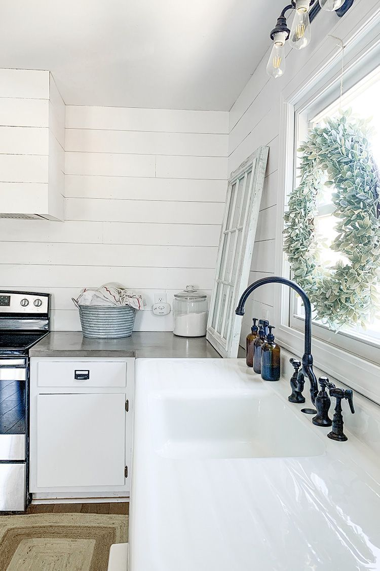 The Story Of My 100 Year Old Antique Cast Iron Drainboard Sink And A Collaborat Farmhouse Sink Kitchen Drainboard Sink Farmhouse Style Kitchen