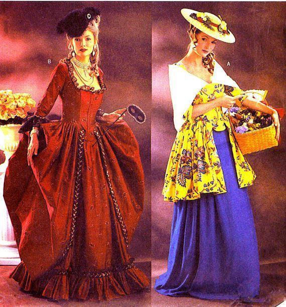 Butterick 3640 Uncut Misses 12,14,16 Civil War Era Southern Belle Dresses & Petticoat Costume Pattern #dressesfromthesouthernbelleera Schöne Southern Belle Kleider, Uncut, Fabrik gefaltet.  Butterick-3640  Vergriffen datiert 2002    Vermisst, 12, 14, 16.  Büste 34- 38  Taille 26 #dressesfromthesouthernbelleera Butterick 3640 Uncut Misses 12,14,16 Civil War Era Southern Belle Dresses & Petticoat Costume Pattern #dressesfromthesouthernbelleera Schöne Southern Belle Kleider, Uncut, Fabrik gefalt #dressesfromthesouthernbelleera