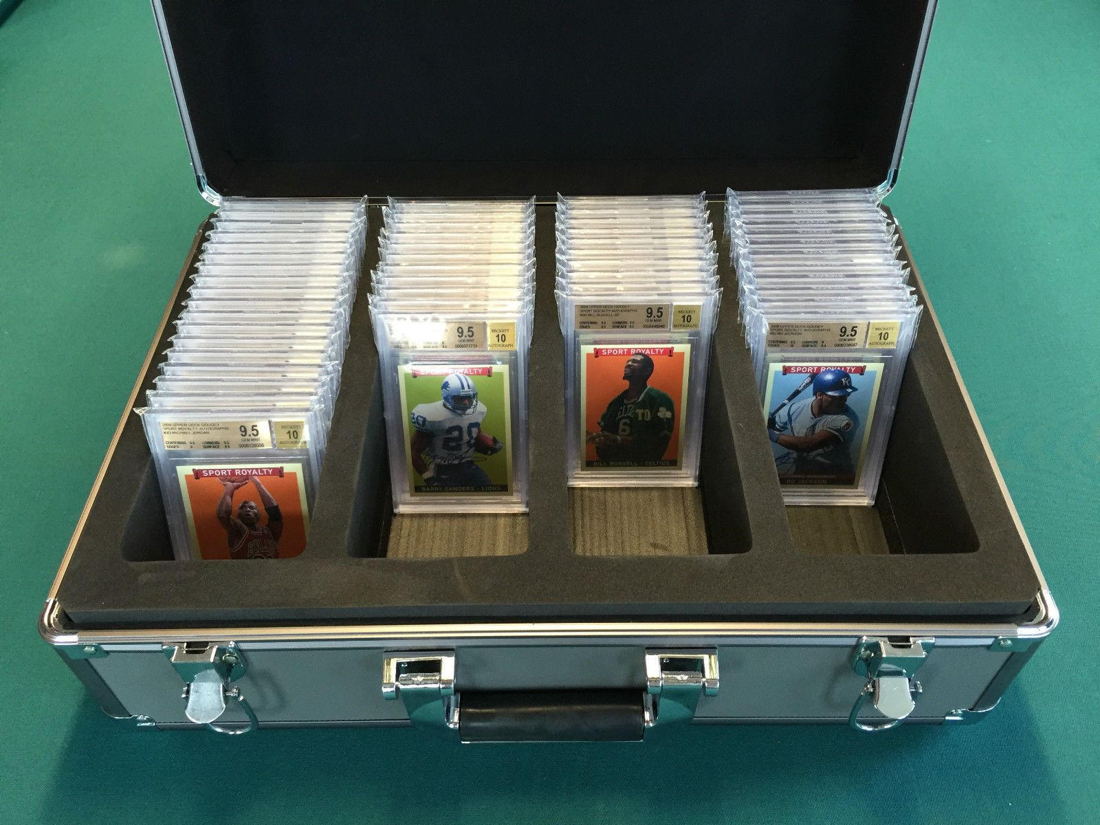 Deluxe graded card storage boxes bgs sgc v 20 by