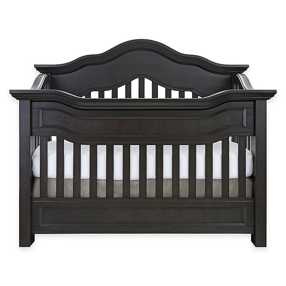 Baby Appleseed Millbury 4In1 Convertible Crib In Slate