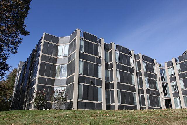 Erdman Hall Dormitories, Bryn Mawr College, Bryn Mawr, PA. Architect: Louis
