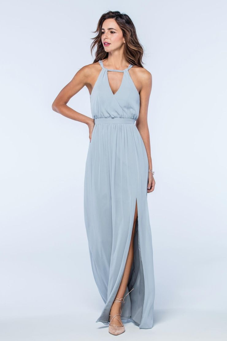 Watters Fleurette Style 2512, French Blue, Size 8, $248 available at Debra's Bridal Shop, 9365 Philips Hwy., Jacksonville, FL 32256. 904-519-9900.