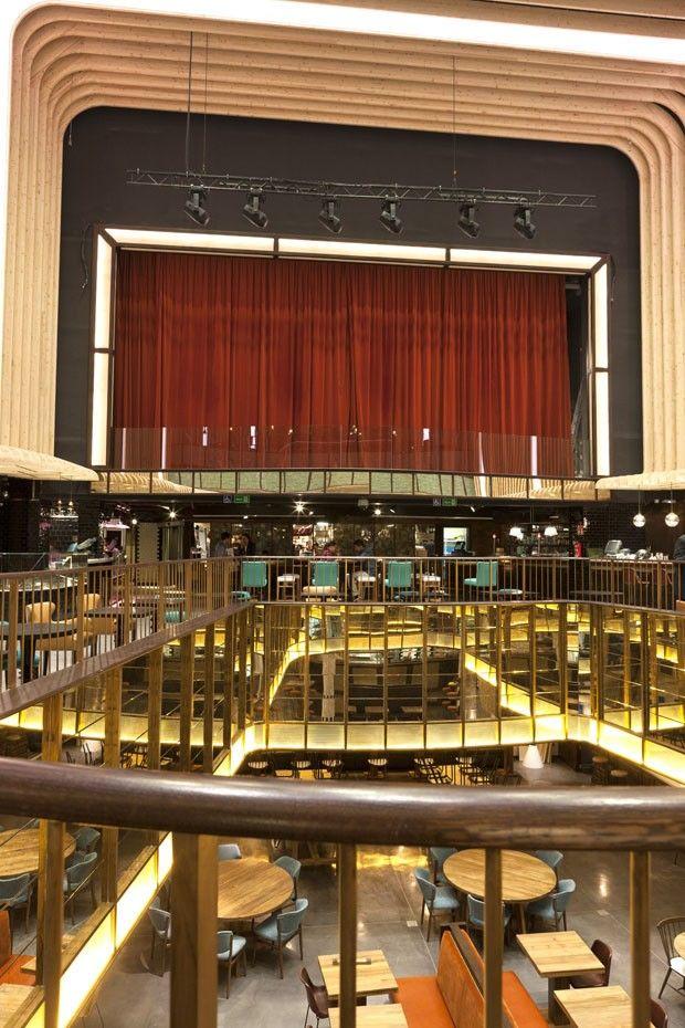 Restaurante Platea em Madrid - Restaurante no teatro