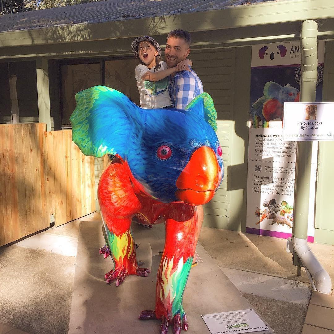 Currumbin fun times #rainbowkoala #currumbinwildlifesanctuary #familyholiday by julzbutterfly http://ift.tt/1X9mXhV