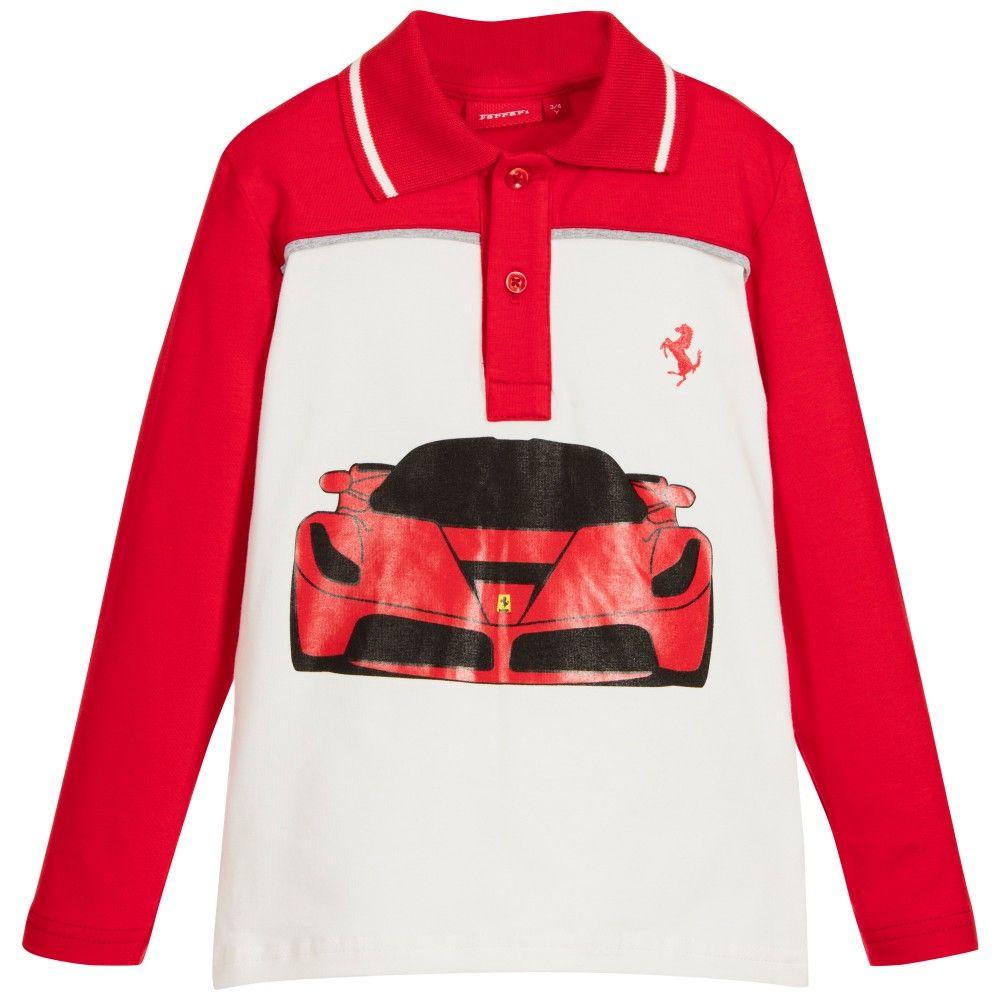 37 Ferrari Kids Clothing Ideas Baby Boy Blues Blue Logo Boys Bright