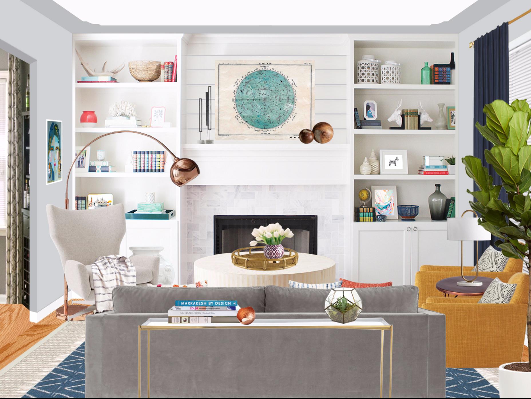 Online interior designer caitlin mcbride classic design with