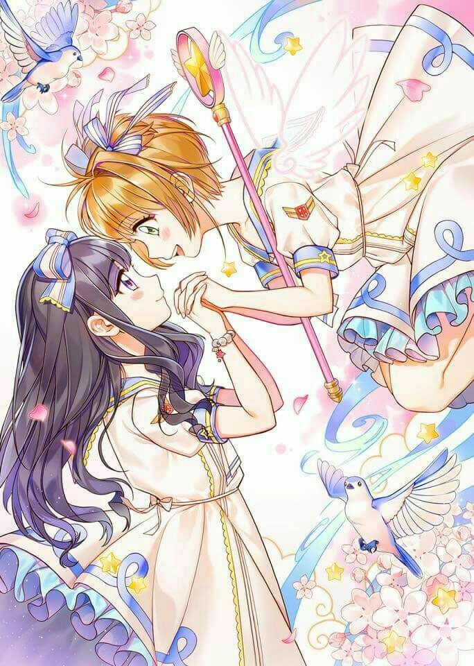 Tomoyo & Sakura | Yuri is Love | Pinterest | Personajes animados, El ...