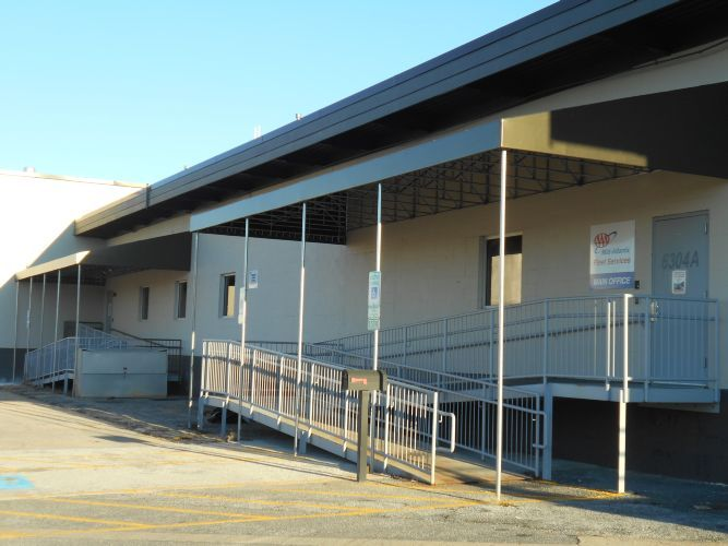 Ramp Awning In Baltimore Offers Safe Passage For Employees A