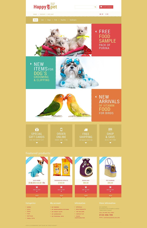 Pets Shopping Prestashop Theme Shopping Pets Theme Prestashop Prestashop Themes Pet Shop Pet Grooming Shop
