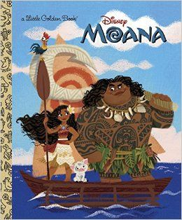 Moana Little Golden Book Disney Moana Andrea Posner Sanchez Rh