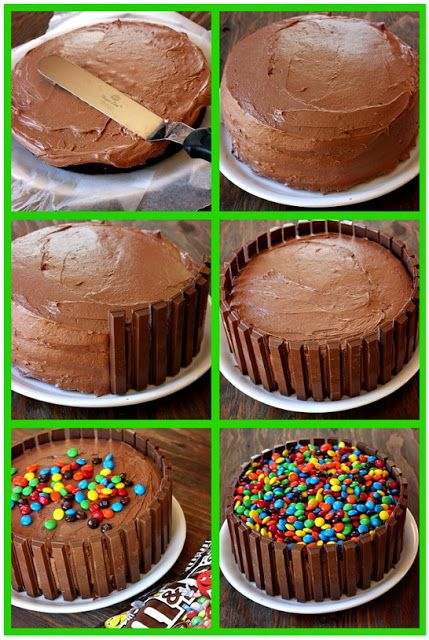 Passo a Passo Bolo Kit Kat Cake Birthdays and Birthday cakes
