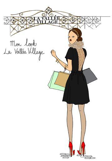A la Vallée Village, on fait nos emplettes fashion de Noël à prix ...