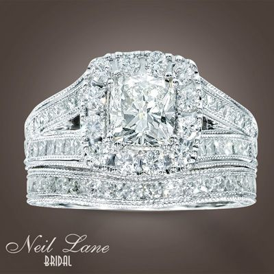 my ring 2 carat neil lane from kay jewelers wedding setswedding