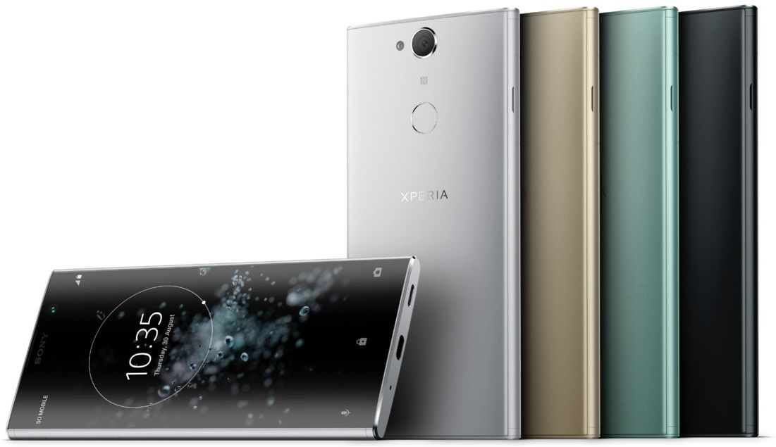 Sony Unveils Xperia Xa2 Plus With A Tall Screen And Single Camera Sony Mobile Phones Phone Sony Xperia