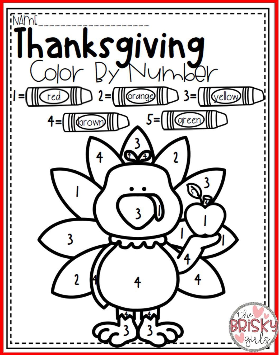 Thanksgiving Activities For Kindergarten With Images