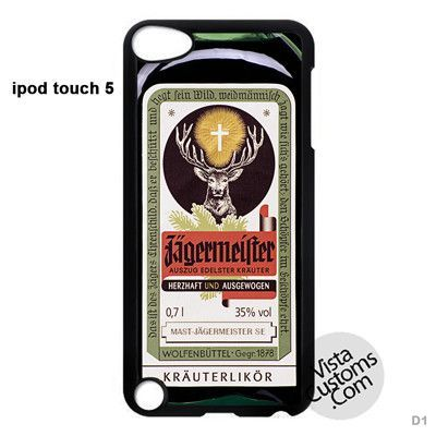 Jagermeister Retro Bottle New Hot Phone Case For Apple, iPhone, iPad, iPod, Samsung Galaxy, Htc, Blackberry Case
