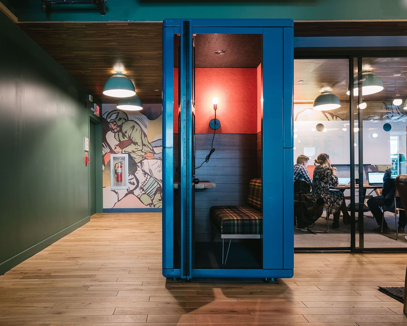 A Tour Of Wework 1601 Market Homey Architecture