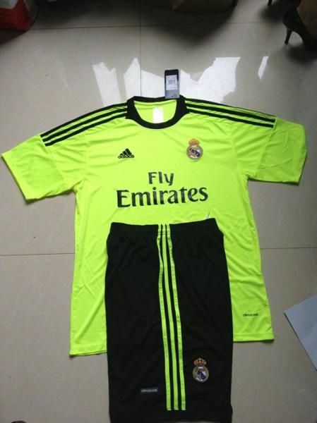 new concept 5930a 7c1ca Real Madrid Goalkeeper Green Soccer Jersey | REAL MADRID ...