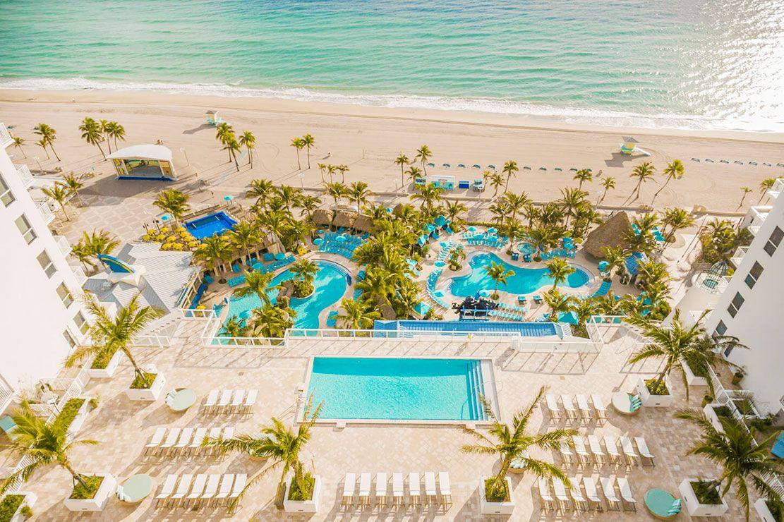 Margaritaville Hollywood Beach Resort Day Pass Resortpass Hollywood Beach Resort Beach Resorts