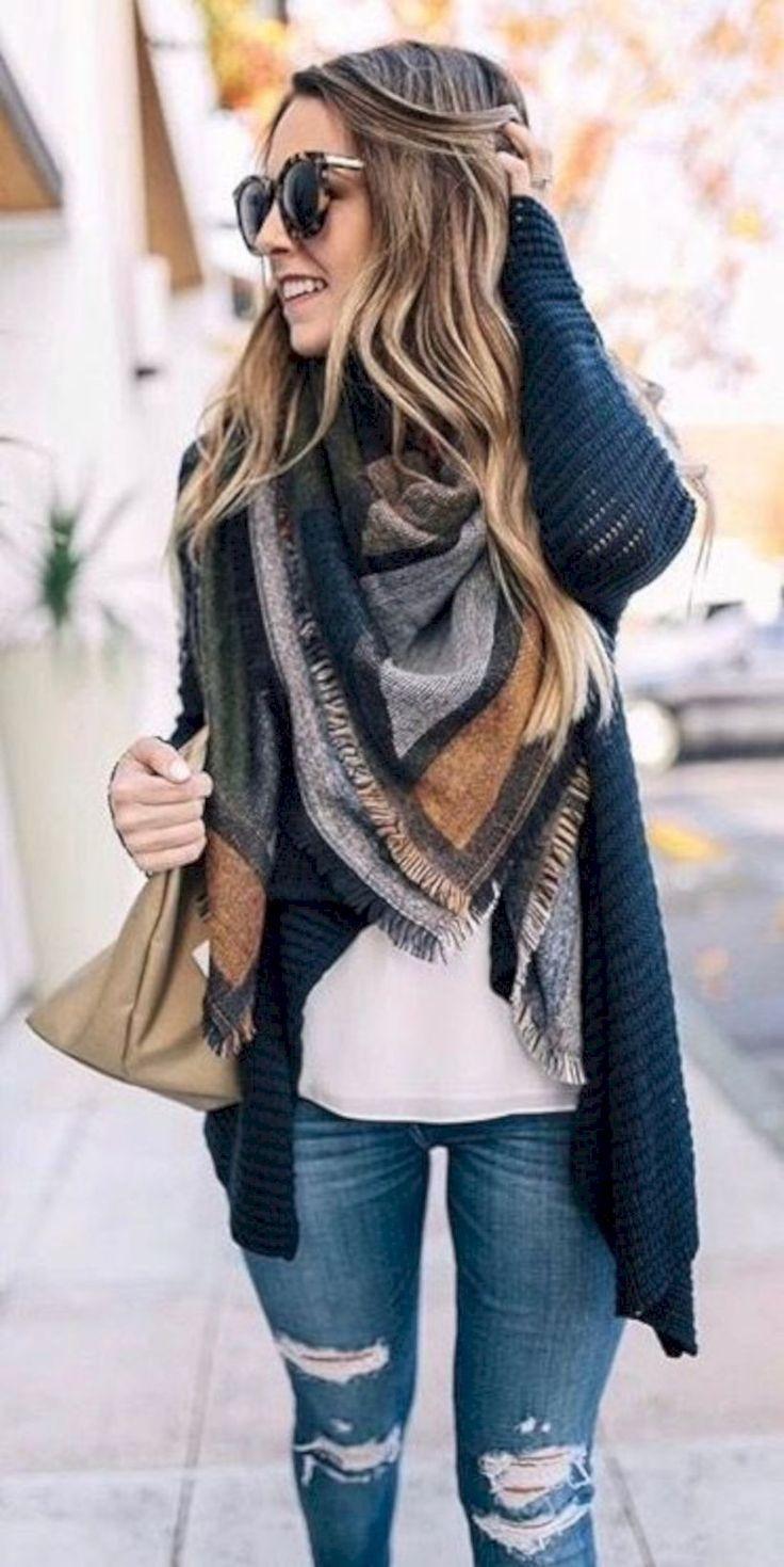 50 Totally Perfect Winter Outfits Ideen, in die Sie sich verlieben werden